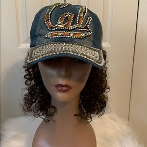 Accessories - Embellished Cap